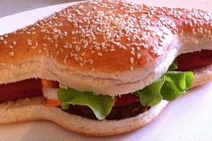 Fica em dúvida entre hambúrguer e hot dog? Australianos inventam hamdog! (Foto: Divulgação/Hamdog.com.au)