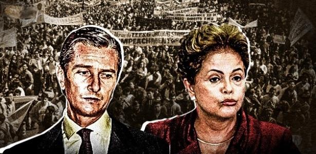 Semelhanças desiguais: Collor e Dilma tiveram seus mandatos questionados em meio a crises políticas e econômicas, mas por motivos diferentes