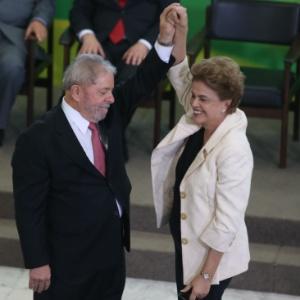 Lula, durante cerimônia de posse como ministro-chefe da Casa Civil, nesta quinta, em Brasília