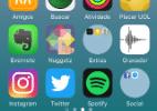 Aprenda a criar pastas de apps redondas na tela inicial do iPhone (Foto: Reprodução)