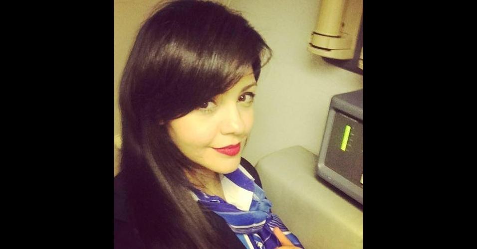 20.mai.2016 - A comissária de bordo Samar Ezz Eldin, 27, é uma dos sete membros da tripulação a bordo do voo MS804 da EgyptAir. Ela trabalha na companhia há dois anos e se casou recentemente, segundo informações do The Guardian
