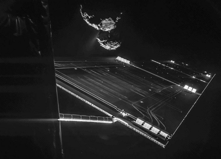6.jun.2016 - Europeus fazem plano para realizar segundo pouso num cometa, desta vez com a sonda Rosetta