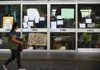 Estudantes protestam e ocupam a Uerj - Tânia Rêgo/Agência Brasil