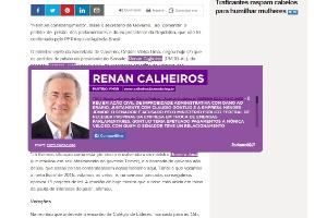 Extensão para Chrome marca nomes de políticos com pendências na Justiça (Foto: Reprodução)
