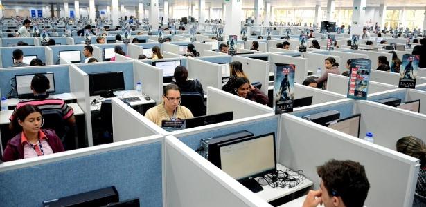 Sede da AeC, empresa de call center em Arapiraca (AL), que gerou 1.200 vagas neste ano