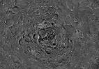Cratera da Lua foi formada por colisão de proto-planeta, indica estudo - ESA/Space-X