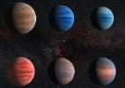 Estudo revela mistério da água perdida em exoplanetas similares a Júpiter - Hubble/ESA/NASA
