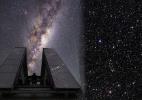 Astrônomos brasileiros identificam estrela rara na Via Láctea - Agência Fapesp/ESO/Beletsky/DSS1 + DSS2 + 2MASS