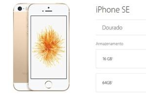 Operadoras começam a vender iPhone SE por a partir de R$ 2.099 com planos (Foto: Reprodução)