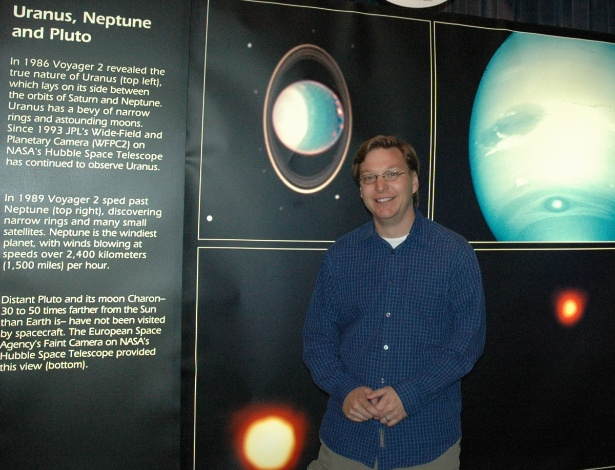 """O professor Mike Brown diz não se incomodar em ser chamado de """"assassino de Plutão"""" se isso contribui para a compreensão do Sistema Solar"""