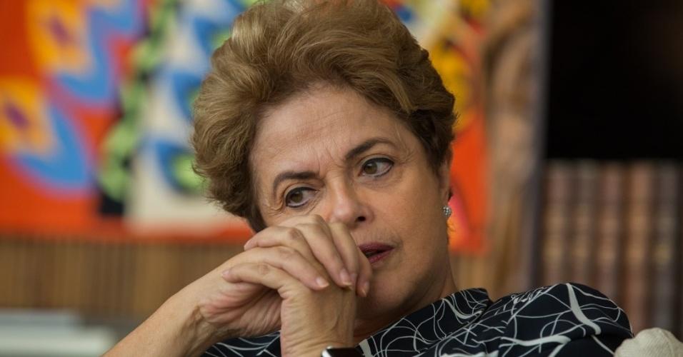 A presidente afastada Dilma Rousseff concede entrevista à Agência Pública, em Brasília
