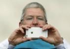 CEO da Apple tira foto tremida com iPhone, e a internet não perdoa (Foto: Reprodução)