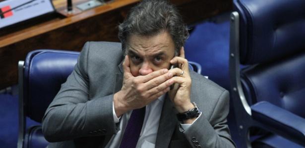 Aécio Neves trabalhou ao longo da tarde para costurar o acordo; assessoria nega