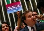 Parlamentares da oposição fazem ato contra PEC do Teto no plenário da Câmara - Pedro Ladeira - 25.out.2016/Folhapress