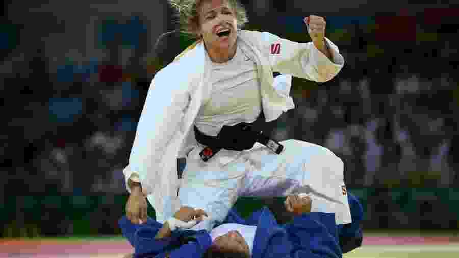 Judoca Érika Miranda vai para repescagem; Chibana é eliminado
