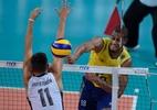 Brasil mantém testes, se impõe e vence EUA por 3 a 1 em prévia olímpica - Divulgação/FIVB
