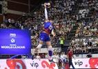 Festival de aces e ausência de bloqueio derrubam Brasil na Liga Mundial - Divulgação / Liga Mundial