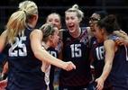 EUA repetem vitória sobre Holanda e ficam com o bronze no vôlei feminino - REUTERS/Yves Herman