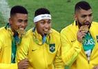 Com celulares e 'o campeão voltou', CBF mostra bastidores do ouro olímpico