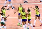 Vitória de virada dá confiança a um Brasil ainda cambaleante - Divulgação/FIVB