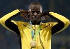 Bolt perde decisão por pênaltis para receber ouro do 4x100 m no Engenhão