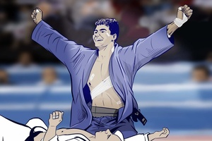Guilheiro ganhou medalha lutando só com um braço