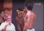 Adélia, Juliana, Tamiel, Renan e Daniel vencem a quarta prova da comida - Reprodução/TV Globo