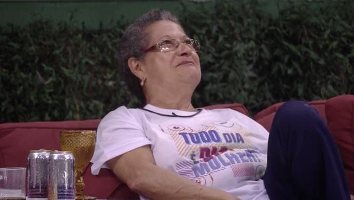 9.mar.2016 - Geralda explica que seu sonho, ao ir para o
