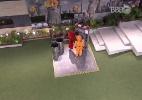 Ana Paula e Ronan sofrem na madrugada com castigo do monstro - Reprodução/TV Globo