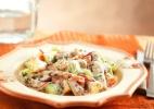 Salada árabe de sardinha