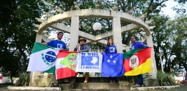 Um grupo de gaúchos, catarinenses e paranaenses pretendem organizar um plebiscito informal em outubro para pedir a separação do Sul do restante do Brasil