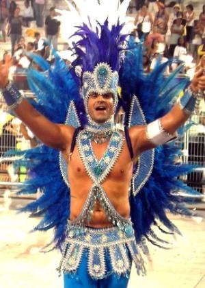 Daniel Manzione é o primeiro e único rei de bateria do Carnaval