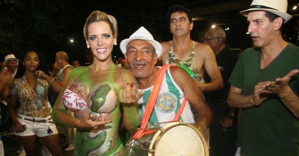 """6.Jan.2013 - Denise Rocha foi apelidada de """"Furacão da CPI"""" após um vídeo íntimo com cenas de sexo vazar e ter sido mostrado para os parlamentares em Brasília durante a CPI do Cachoeira"""