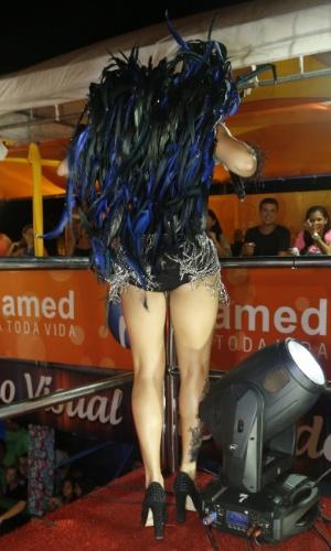 17.jan.2013 - Maysa Reis no Circuito da Folia no Pré Caju Verao 2013