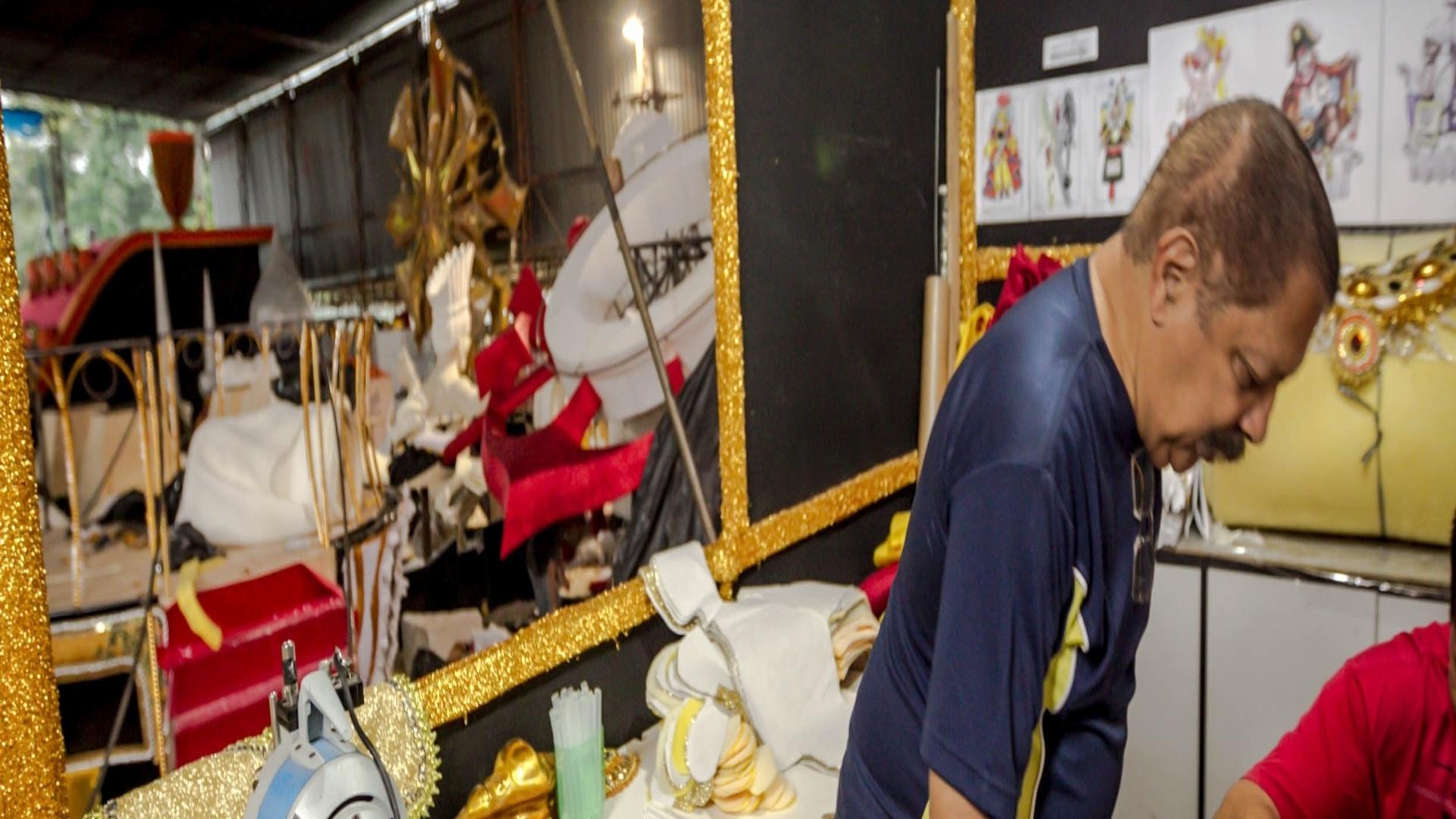 17.jan.2013 Tetracampeão no Carnaval carioca, Max fará sua estreia na folia pauslitana em 2013