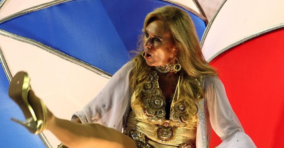11.fev.2013 - Aos 67 anos, Helô Pinheiro, a inspiração para a música