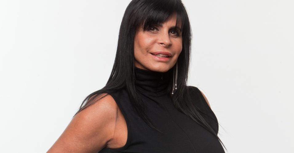 A cantora Gretchen, de 52 anos, jé conhecida como a rainha do rebolado e já casou 16 vezes