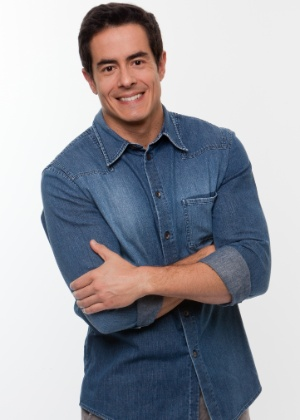 O ator e apresentador Felipe Folgosi, de 38 anos