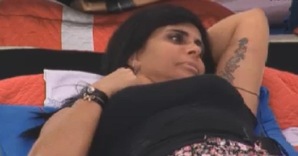 Gretchen comenta suposta fama de galã de Felipe Folgosi (27/6/12)
