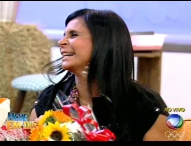 Gretchen participa do programa