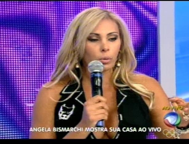 Ângela Bismarchi explica sua decisão de ficarm em