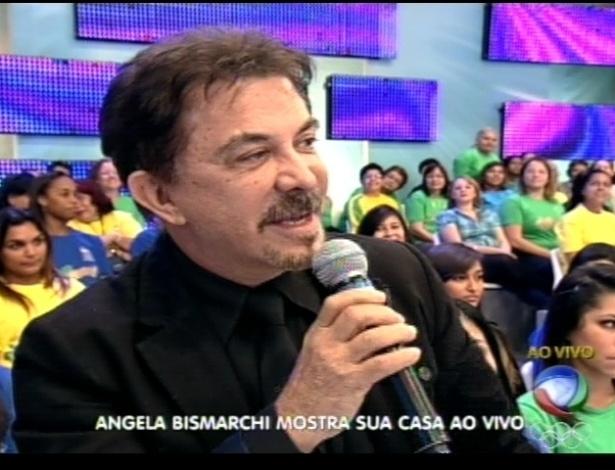 O cirurgião Wagner Moraes fala sobre a mulher Ângela Bismarchi no