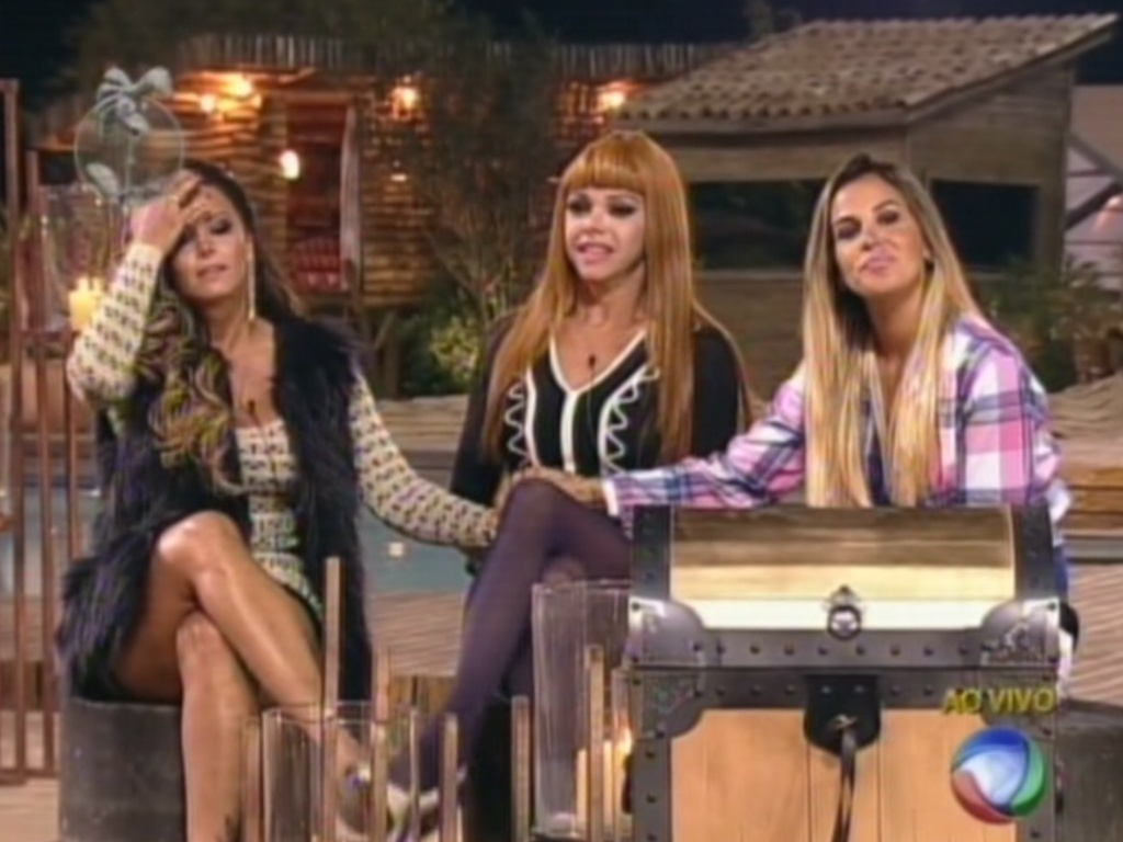Viviane Araújo, Léo Áquilla e Robertha Portella se enfrentam na 11ª roça de