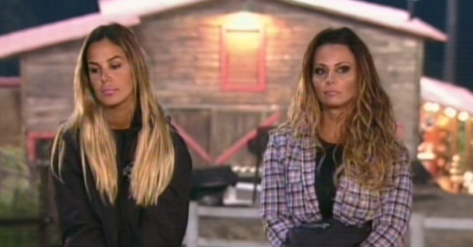 Robertha Portella e Viviane Araújo se enfrentam na 11º roça de