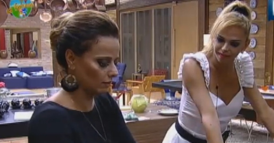 Viviane Araújo e Léo Áquilla falam de Nicole Bahls (26/8/12)