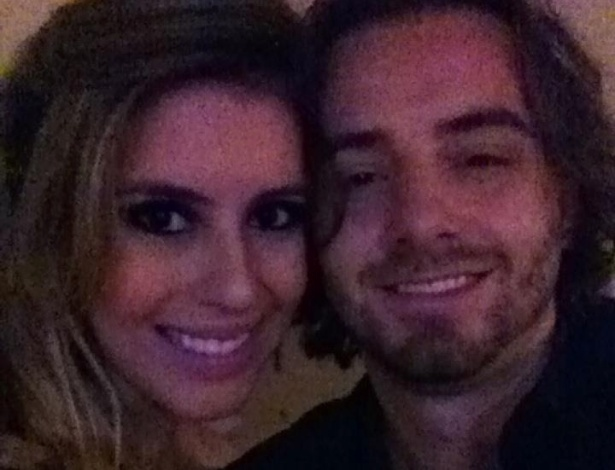 Bianca Luperini e o namorado Breno Mantovani
