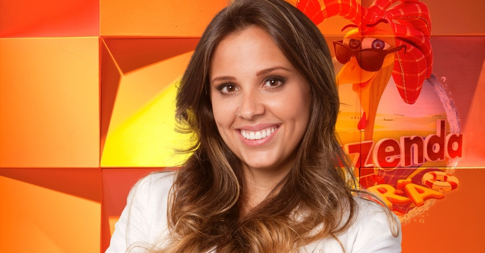 A mineira Angelis Borges, nova integrante do reality show