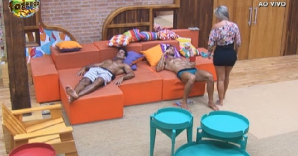 Thyago e Dan dizem que precisam relaxar um pouco mais