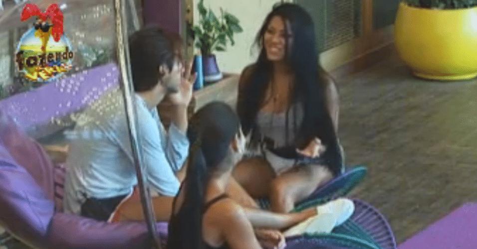 Natalia decide conversar com Dan