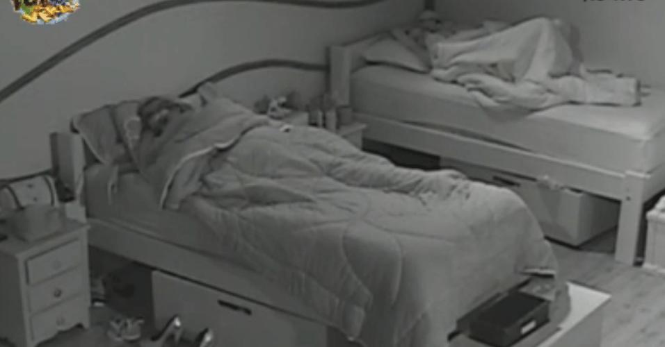 Manoela e Angelis descansam
